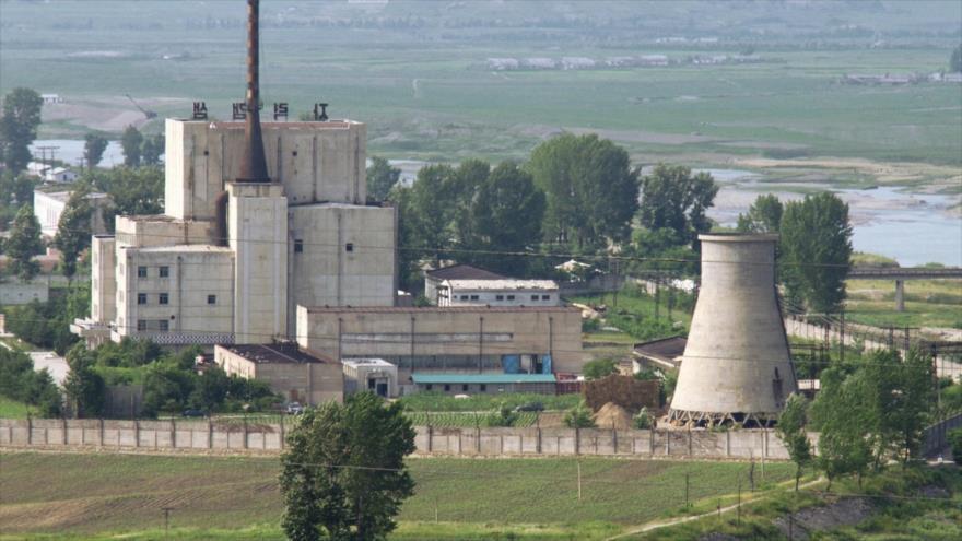 El complejo nuclear de Yongbyon, en corea del Norte.
