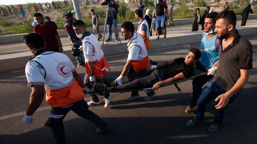 Muere un adolescente palestino por fuego israelí en Gaza