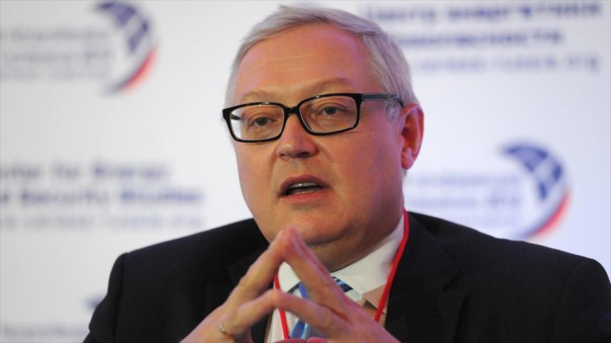 El viceministro ruso de Asuntos Exteriores, Serguéi Riabkov.