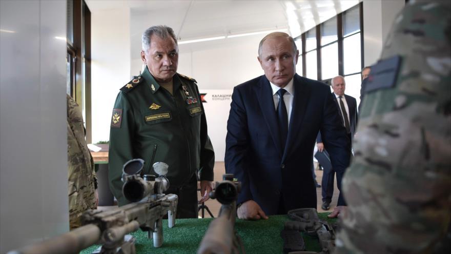 Putin ordena iniciar el desarrollo de nuevas armas