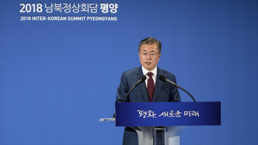 Presidente surcoreano discutirá con Trump el fin de la Guerra de Corea