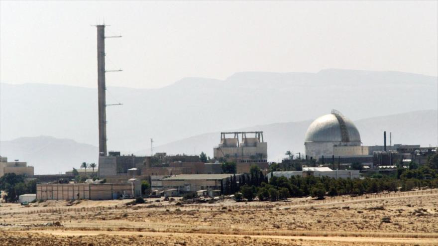 Las instalaciones nucleares de israel en Dimona, en el sur de los territorios ocupados palestinos.