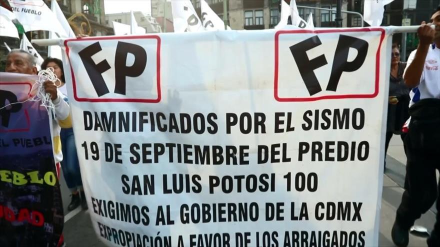 México celebra aniversario de los sismos de 1985 y 2017