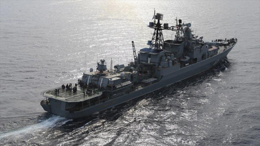 Rusia cierra Mediterráneo este 'para impedir ataque israelí a Siria'