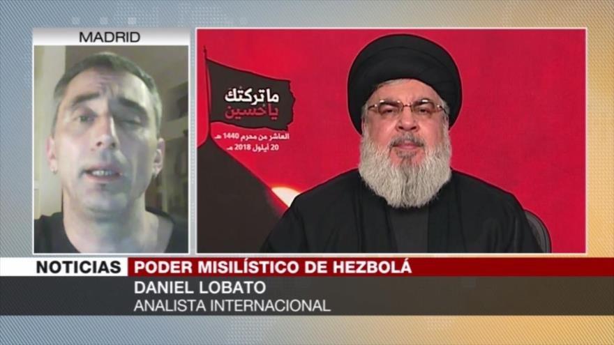 Lobato: Discurso de Nasralá refuerza resistencia contra Israel