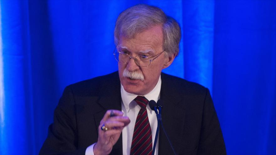 El consejero de Seguridad Nacional de EE.UU., John Bolton, da un discurso en Washington D.C., EE.UU., 10 de septiembre 2018 (Foto: AFP)