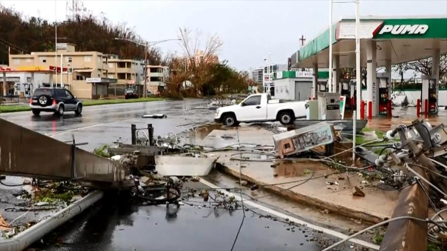 Aniversario de huracán María, críticas a Trump por manejo de crisis