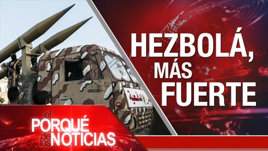 El Porqué de las Noticias: Hezbolá, más fuerte. Acuerdo de divorcio. Huracán María, un año después