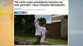 Presidente de Honduras promete no repostularse