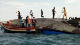 Mueren al menos 86 personas al naufragar un ferri en Tanzania