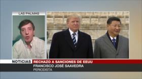 Saavedra: Presiones de EEUU a China se volverán en su contra