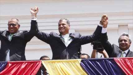 """Alertan de un """"juego de venganzas políticas"""" contra Correa"""