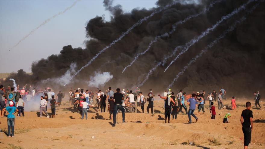 Israel mata a un joven palestino e hiere a otros 159 en Gaza