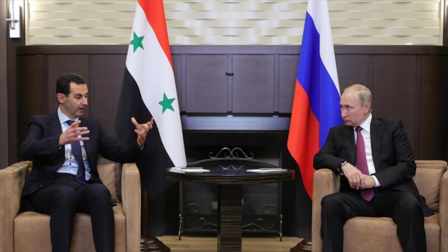 "Rusia rechaza ""rumores"" difundidos por ministro israelí sobre Al-Asad"