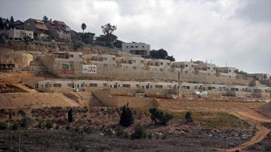 El asentamiento israelí Amichai en la ocupada Cisjordania, 7 de septiembre de 2018. (Foto: AFP)