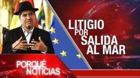 El Porqué de las Noticias: Sanciones estadounidenses. Impasse en negociaciones del Brexit. Reclamo de Bolivia sobre salida al Mar