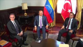 Turquía rechaza sanciones de Estados Unidos contra Venezuela