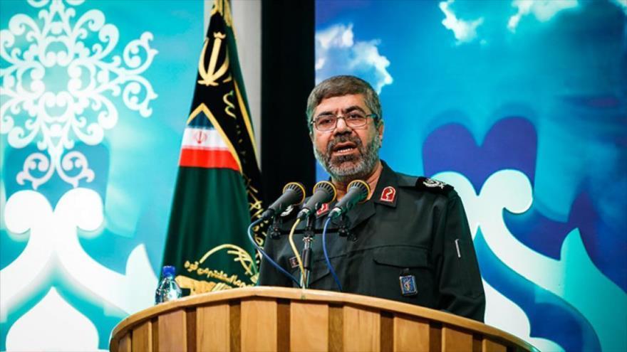 El portavoz del Cuerpo de Guardianes de la Revolución Islámica, el general Ramezan Sharif.