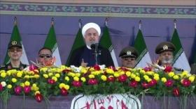 Defensa de Irán. Ataque terrorista en Irán. Disputa marítima