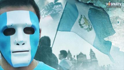 Guatemala. 2015: vuvuzelas. 2018: movilización popular