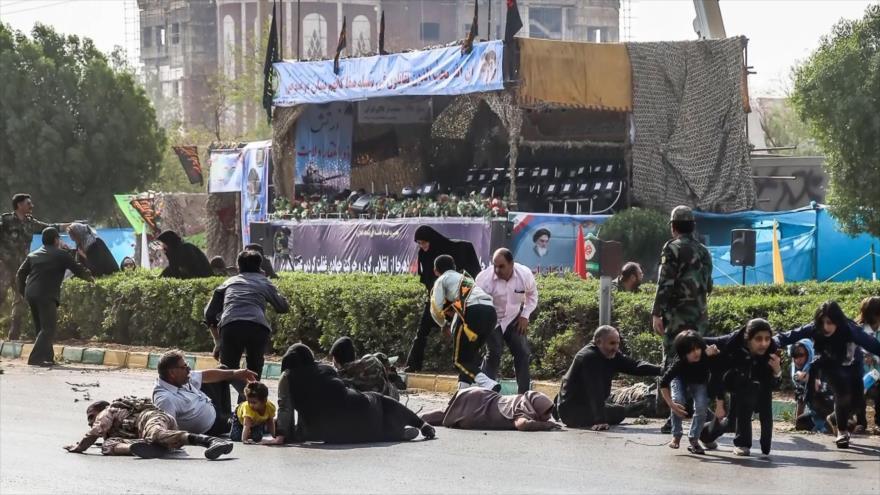 Varios muertos y heridos en ataque terrorista en el sur de Irán