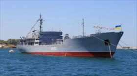 Buques de la Armada de Ucrania se acercan a Crimea