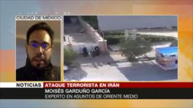 Garduño García: Ataque de Ahvaz muestra larga presión contra Irán