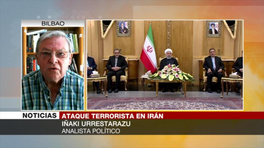 Urrestarazu: EEUU busca desestabilizar Irán con actos terroristas
