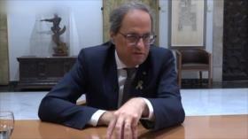 Torra pide la liberación de todos los presos políticos catalanes