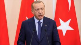 Erdogan acusa a EEUU de seguir apoyando a fuerzas kurdas en Siria