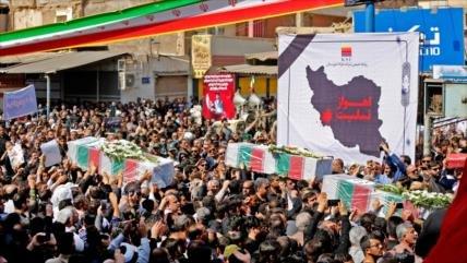 Irán despide a las víctimas del atentado terrorista en Ahvaz