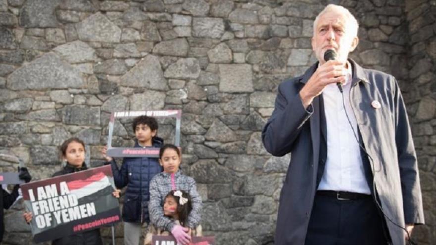 Corbyn exige que no se vendan más armas británicas a Arabia Saudí