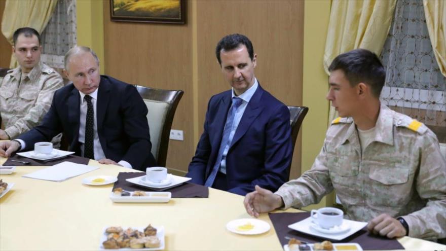 Putin dice a Al-Asad que Rusia dará a Siria el sistema antiaéreo S-300