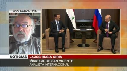San Vicente: Entrega de S-300 a Siria parará agresiones de Israel