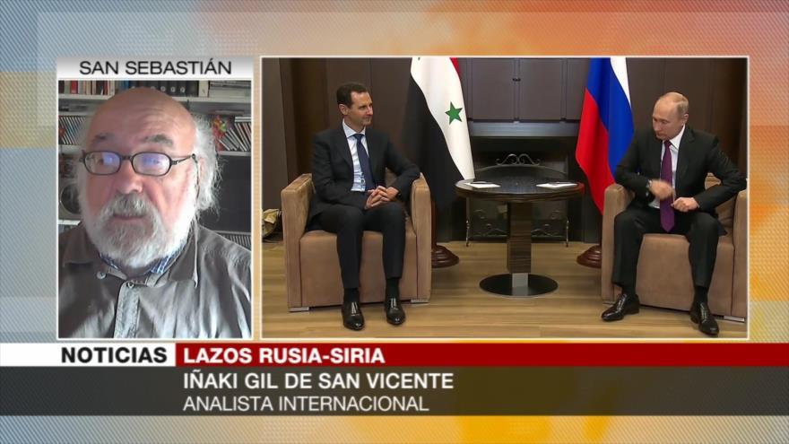San Vicente: Suministro de S-300 a Siria detendrá agresiones de Israel
