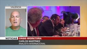 Martínez: Italia incumple sus propias convenciones sobre migrantes