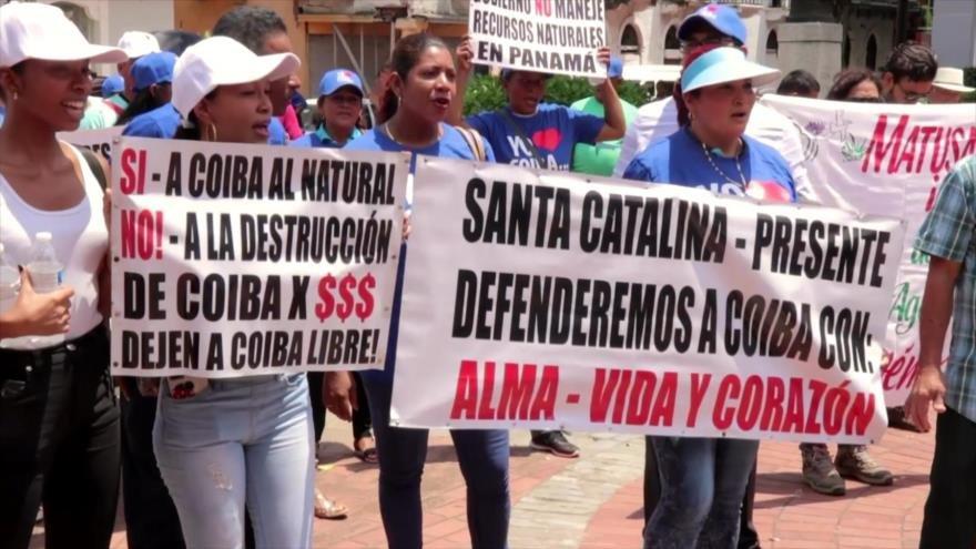 Panameños exigen destitución de ministro de Medio Ambiente