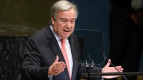 """El jefe de la ONU deplora un orden mundial """"caótico"""""""