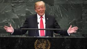 Trump amenaza en la ONU con más presiones contra Irán