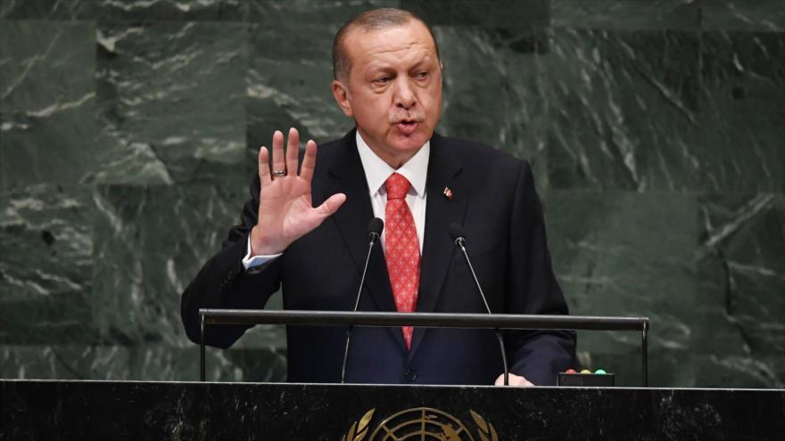 Erdogan denuncia el silencio de la ONU ante masacres en Palestina