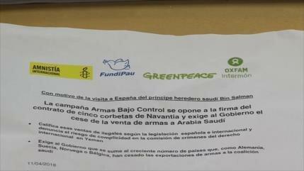 Exigen respuestas al Gobierno de España por exportación de armas