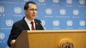 Arreaza: a Trump solo le faltó romper la carta de la ONU