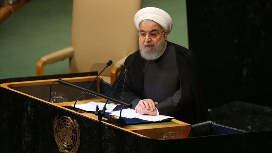 Rohani: Irán aboga por mantener la seguridad y la paz en el mundo