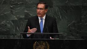 """Perú aboga por el """"retorno de la democracia a Venezuela"""""""