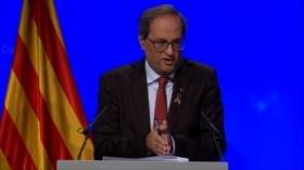 Quim Torra impulsa un proyecto de Constitución catalana