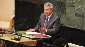 Ecuador pide solidaridad regional para migrantes venezolanos