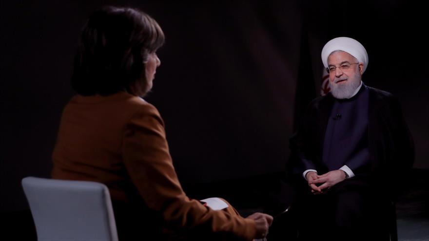 Rohani critica doble rasero de Occidente en lucha antiterrorista