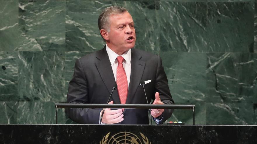 El rey jordano, Abdolá II, 25 de septiembre de 2018 (Foto: AFP).