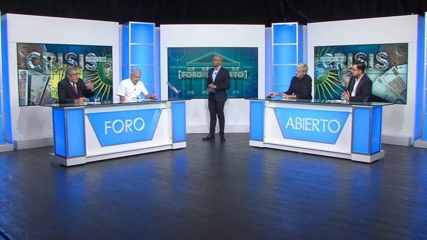 Foro Abierto; Argentina: el desplome económico continúa