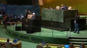 Políticas antiraníes de EEUU. Unilateralismo. Huelga en Argentina